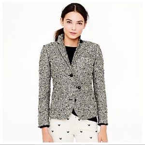 J.Crew Collection Shimmer Tweed Jacket